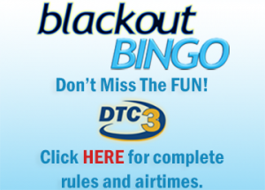 DTC3's Blackout Bingo returns Monday, September 7 featured image